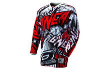 O&#039;Neal Hardwear Automatic Jersey Men black/red